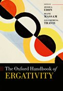 Cover for The Oxford Handbook of Ergativity