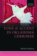 Cover for Tone and Accent in Oklahoma Cherokee