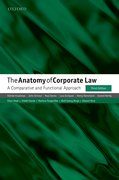 Cover for The Anatomy of Corporate Law - 9780198739630