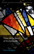 Cover for Time in the Book of Ecclesiastes