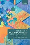 Cover for The Evolution of International Arbitration
