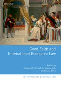Cover for Good Faith and International Economic Law