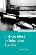 Cover for Critical Ideas in Television Studies