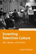 Cover for Inventing Television Culture