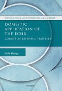 Cover for Domestic Application of the ECHR