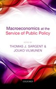 Cover for Macroeconomics at the Service of Public Policy