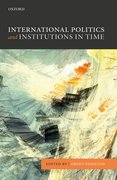 Cover for International Politics and Institutions in Time