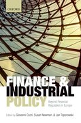 Cover for Finance and Industrial Policy