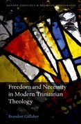 Cover for Freedom and Necessity in Modern Trinitarian Theology