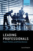 Cover for Leading Professionals - 9780198744788