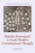 Cover for Popular Sovereignty in Early Modern Constitutional Thought