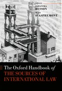 Cover for The Oxford Handbook of the Sources of International Law - 9780198745365