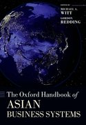 Cover for The Oxford Handbook of Asian Business Systems