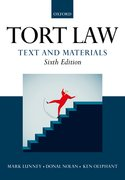 Cover for Tort Law: Text and Materials