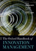 Cover for The Oxford Handbook of Innovation Management