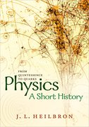 Cover for Physics: a short history from quintessence to quarks