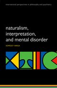 Cover for Naturalism, interpretation, and mental disorder