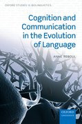 Cover for Cognition and Communication in the Evolution of Language