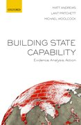 Cover for Building State Capability