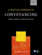 Cover for A Practical Approach to Conveyancing