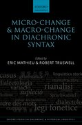 Cover for Micro-change and Macro-change in Diachronic Syntax