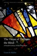 Cover for The Vision of Didymus the Blind