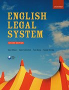 Cover for English Legal System
