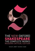 Cover for The New Oxford Shakespeare: Modern Critical Edition