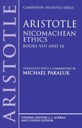 Cover for Aristotle: Nicomachean Ethics, Books VIII and IX