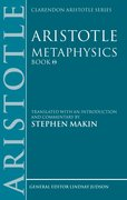 Cover for Aristotle: Metaphysics Theta