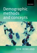 Cover for Demographic Methods and Concepts
