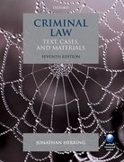Cover for Criminal Law