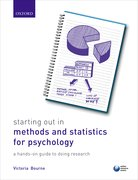 Cover for Starting Out in Methods and Statistics for Psychology