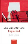 Cover for Musical Emotions Explained - 9780198753421