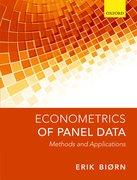 Cover for Econometrics of Panel Data
