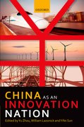 Cover for China as an Innovation Nation