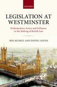 Cover for Legislation at Westminster - 9780198753827