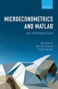 Cover for Microeconometrics and MATLAB: An Introduction