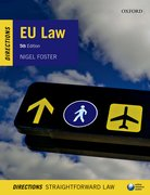 Cover for EU Law Directions