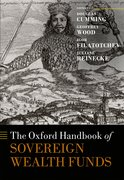 Cover for The Oxford Handbook of Sovereign Wealth Funds