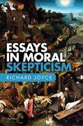 Cover for Essays in Moral Skepticism