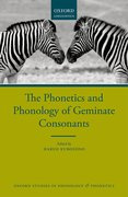 Cover for The Phonetics and Phonology of Geminate Consonants