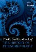 Cover for The Oxford Handbook of the History of Phenomenology - 9780198755340