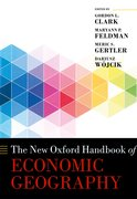 Cover for The New Oxford Handbook of Economic Geography - 9780198755609