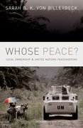 Cover for Whose Peace?