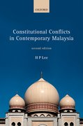 Cover for Constitutional Conflicts in Contemporary Malaysia - 9780198755999