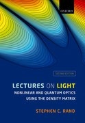 Cover for Lectures on Light - 9780198757450