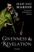 Cover for Givenness and Revelation