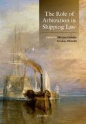 Cover for The Role of Arbitration in Shipping Law