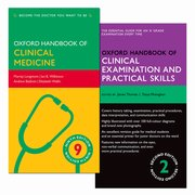 Cover for Oxford Handbook of Clinical Examination and Practical Skills and Oxford Handbook of Clinical Medicine Pack